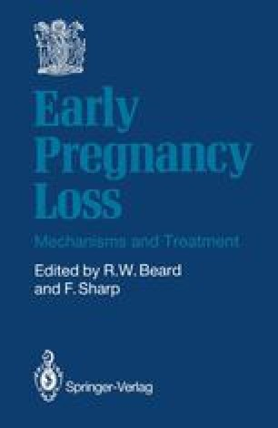 Early Pregnancy Loss