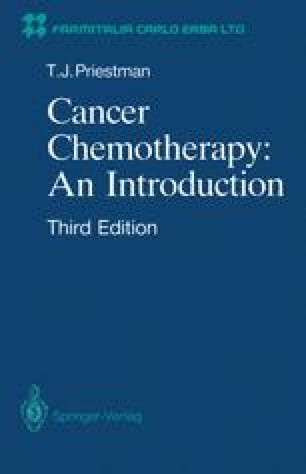 Cancer Chemotherapy: an Introduction