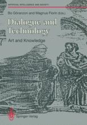 Dialogue and Technology: Art and Knowledge