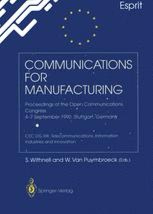 Communications for Manufacturing