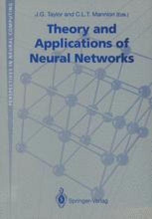 Theory and Applications of Neural Networks
