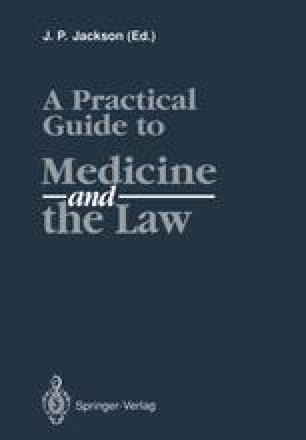 A Practical Guide to Medicine and the Law