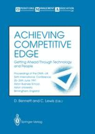Achieving Competitive Edge Getting Ahead Through Technology and People