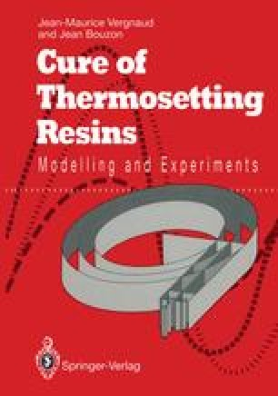 Cure of Thermosetting Resins