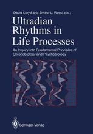 Ultradian Rhythms in Life Processes