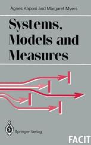 Systems, Models and Measures