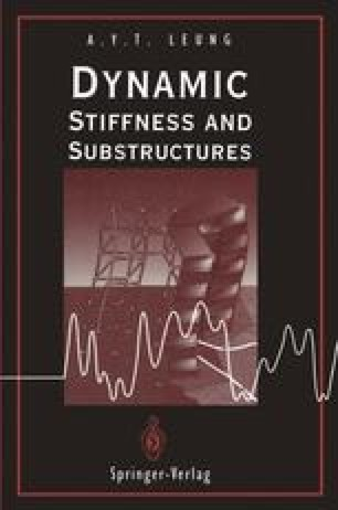 Dynamic Stiffness and Substructures