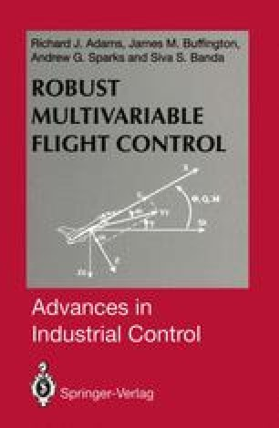 Robust Multivariable Flight Control