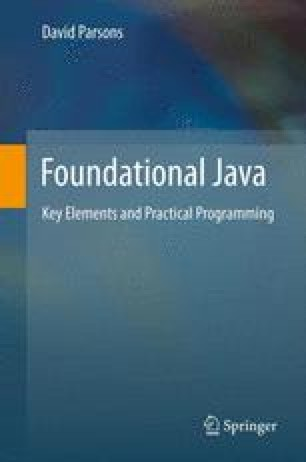 Foundational Java