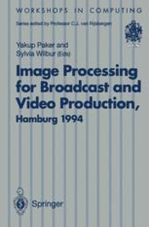Image Processing for Broadcast and Video Production