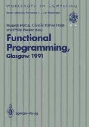 Functional Programming, Glasgow 1991
