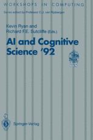 AI and Cognitive Science '92