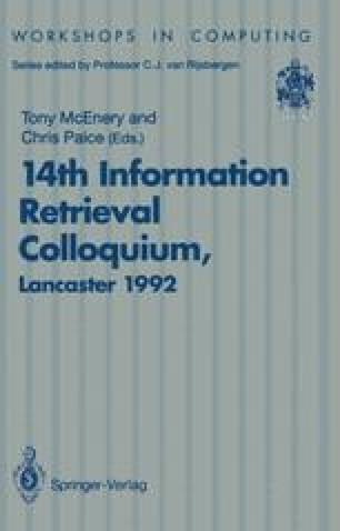 14th Information Retrieval Colloquium