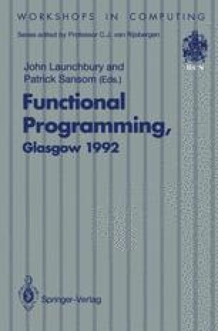 Functional Programming, Glasgow 1992