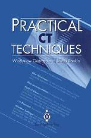 Practical CT Techniques