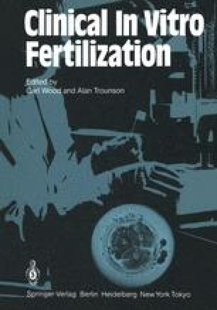 Clinical In Vitro Fertilization