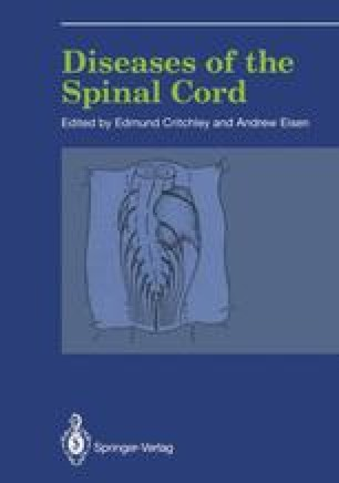 Diseases of the Spinal Cord