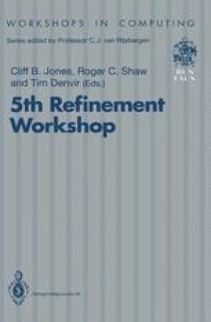 5th Refinement Workshop