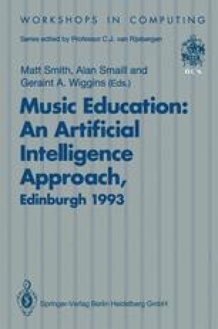Music Education: An Artificial Intelligence Approach