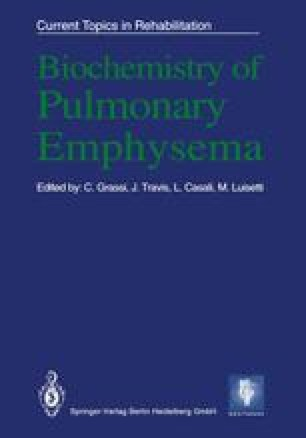 Biochemistry of Pulmonary Emphysema