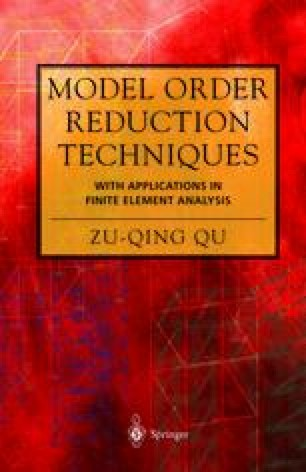 Model Order Reduction Techniques