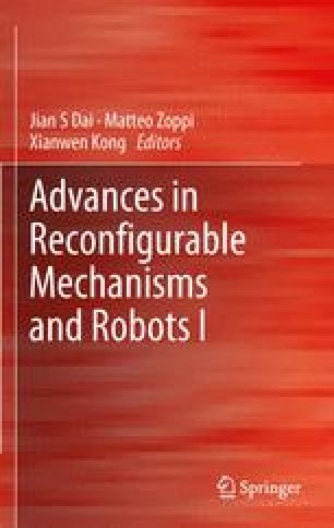 Advances in Reconfigurable Mechanisms and Robots I