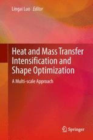 Heat and  Mass Transfer Intensification and Shape Optimization