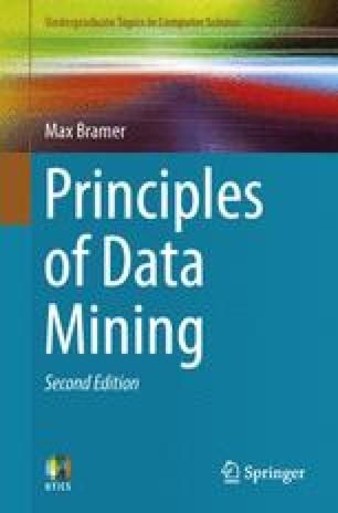 Principles of Data Mining