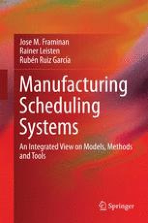 Manufacturing Scheduling Systems