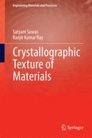 Crystallographic Texture of Materials