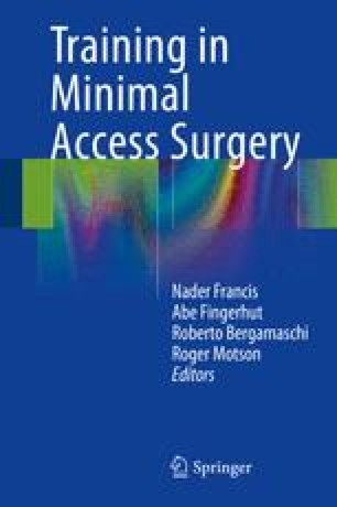 Training in Minimal Access Surgery