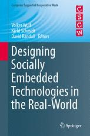 Designing Socially Embedded Technologies in the Real-World