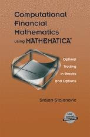 Computational Financial Mathematics using MATHEMATICA®