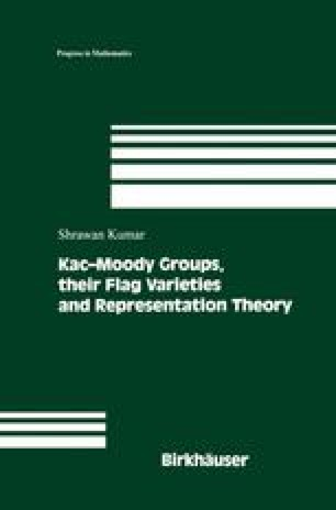 Kac-Moody Groups, their Flag Varieties and Representation Theory