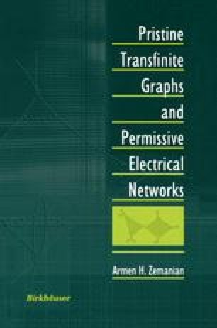 Pristine Transfinite Graphs and Permissive Electrical Networks