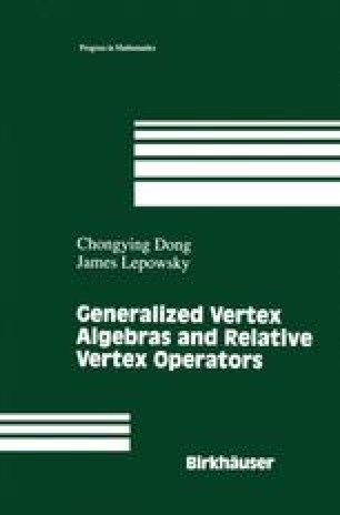 Generalized Vertex Algebras and Relative Vertex Operators