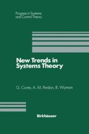 New Trends in Systems Theory