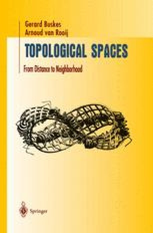 Topological Spaces