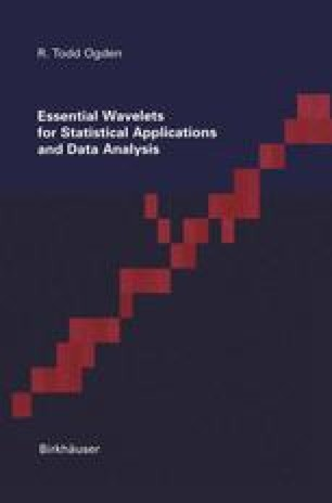 Essential Wavelets for Statistical Applications and Data Analysis