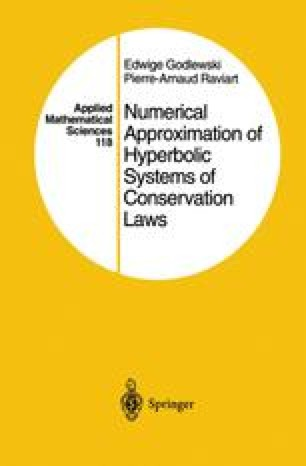 Numerical Approximation of Hyperbolic Systems of Conservation Laws
