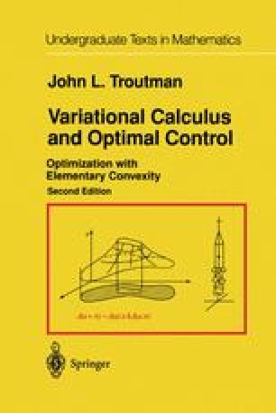 Variational Calculus and Optimal Control