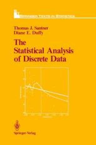 The Statistical Analysis of Discrete Data