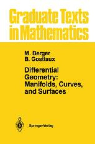 Differential Geometry: Manifolds, Curves, and Surfaces