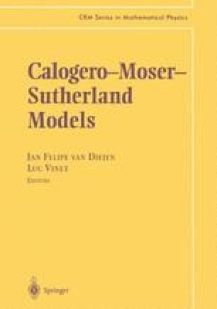Calogero—Moser— Sutherland Models