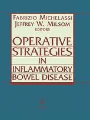 Operative Strategies in Inflammatory Bowel Disease
