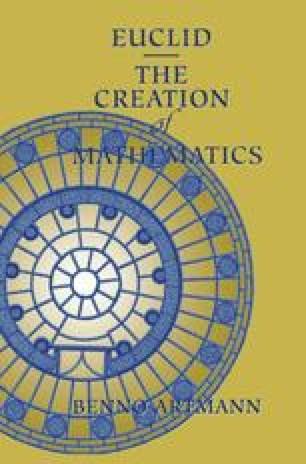 Euclid—The Creation of Mathematics