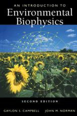 An Introduction to Environmental Biophysics