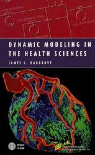 Dynamic Modeling in the Health Sciences