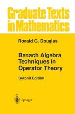 Banach Algebra Techniques in Operator Theory