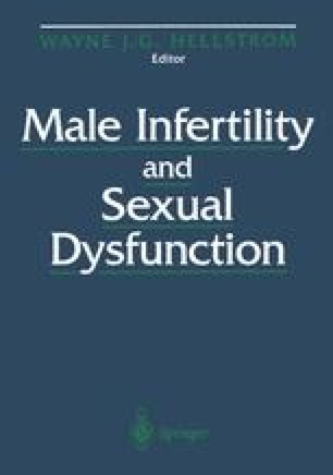 Male Infertility and Sexual Dysfunction